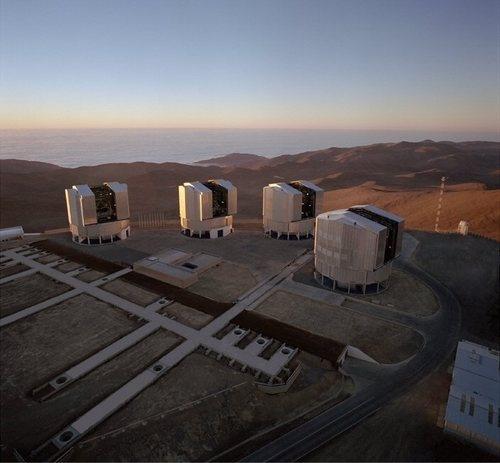 the Very Large Telescope, Atacama Desert, Chile