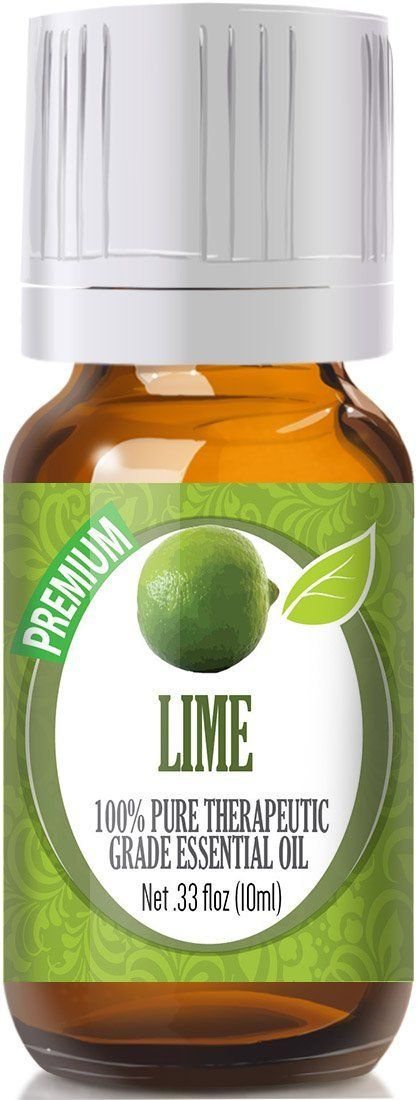 Lime 100% Pure, Best Therapeutic Grade Essential Oil - 10ml *** You can get more details here : lime essential oil