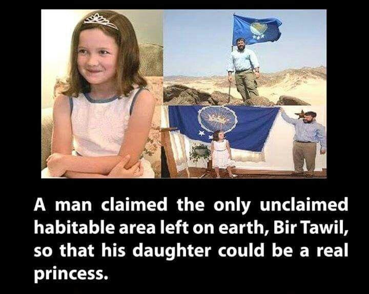 Bir Tawil #claim #area #country #princess