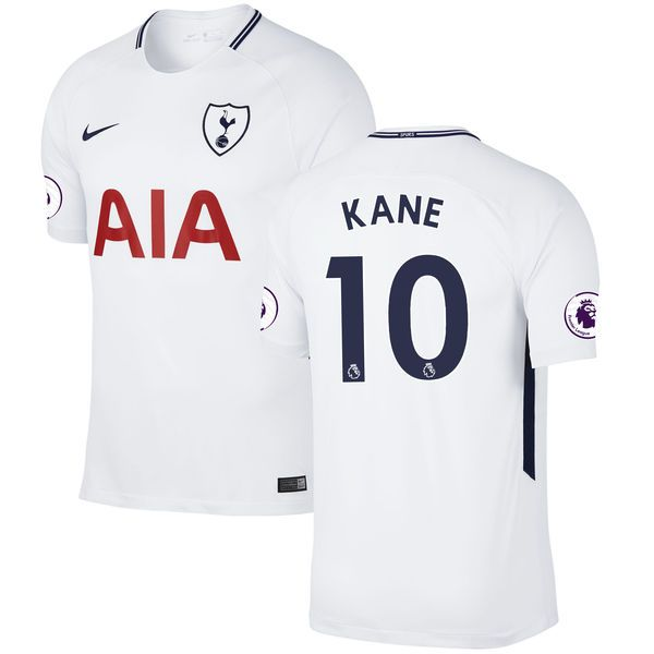 Harry Kane Tottenham Hotspur Nike 2017/18 Home Replica Patch Jersey - White - $119.99