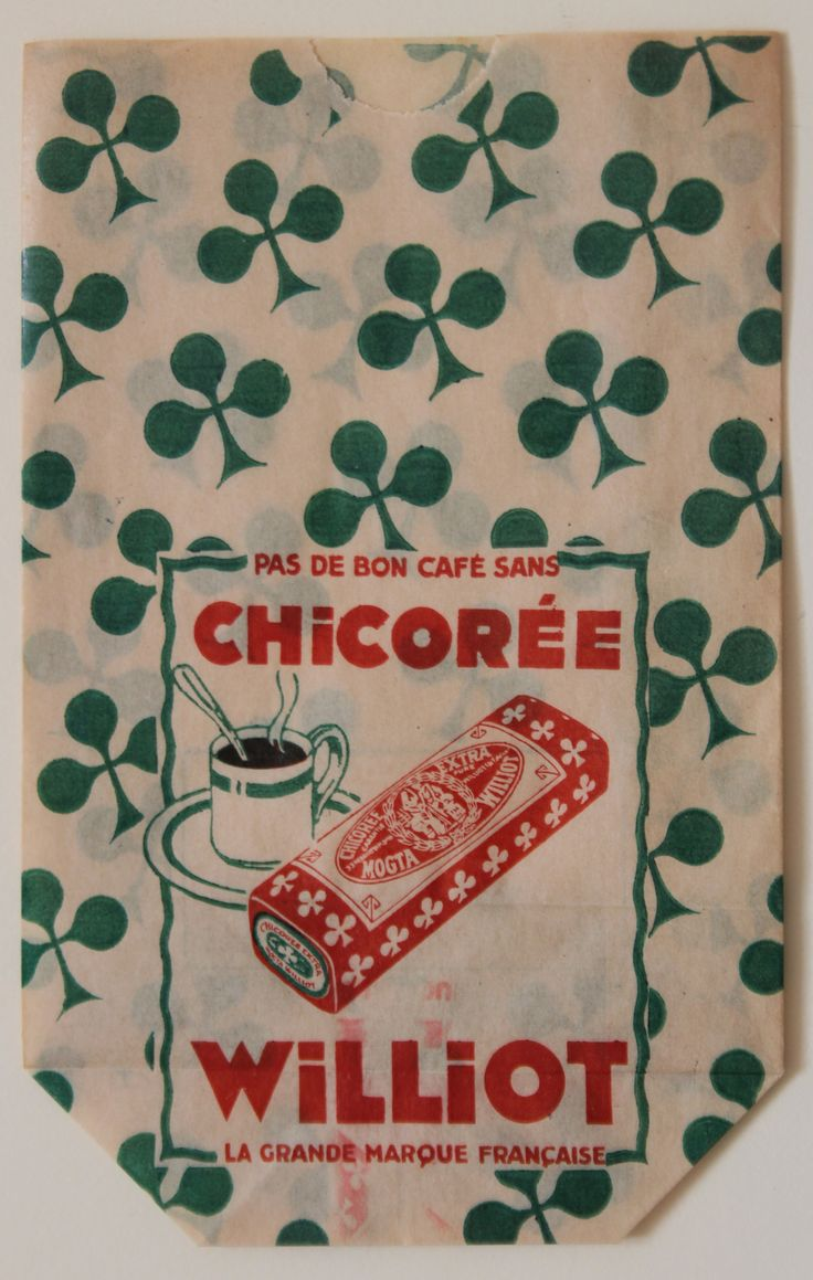 Chicorée Paper Bag. French :: via Becky Baur