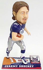 New York Giants Jeremy Shockey Forever Collectibles On Field Bobblehead Z157-8132963886