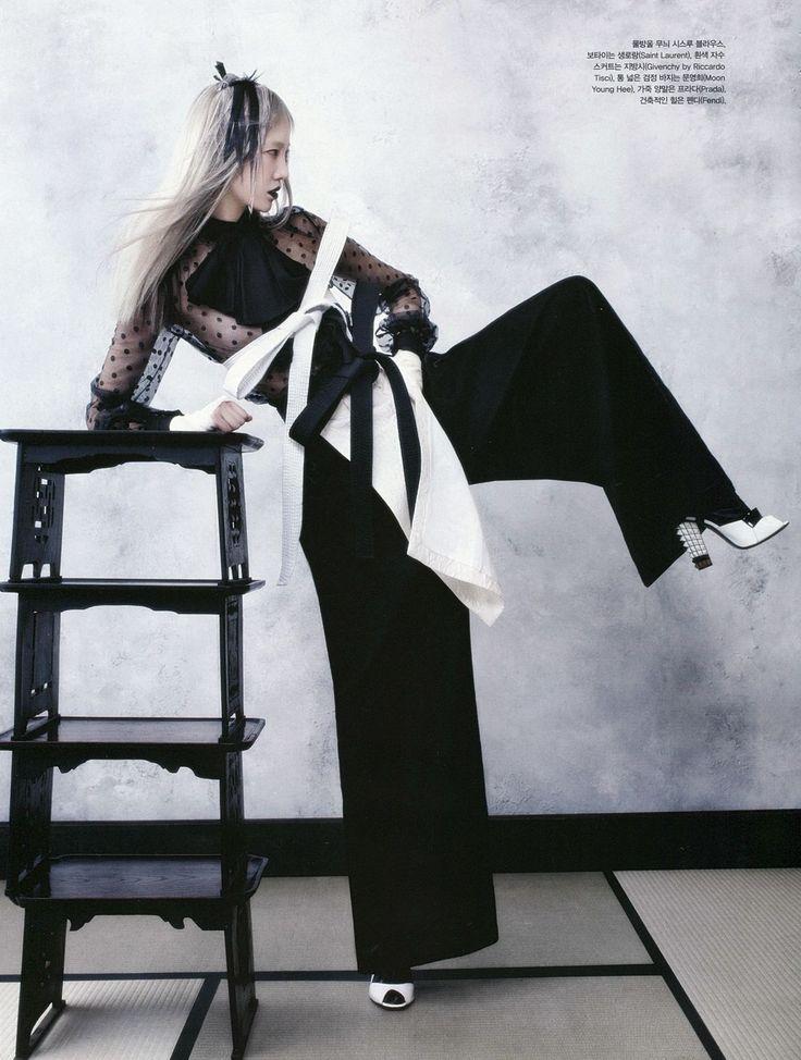 Soo Joo Park for Vogue Korea 2013