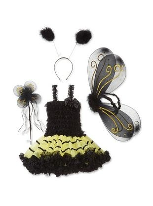 75% OFF Tutu Couture Girl's Petti Skirt Set (Bumble Bee)