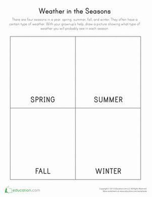 Seasons Worksheets: 17 Best ideas about Seasons Worksheets on Pinterest   Seasons    ,