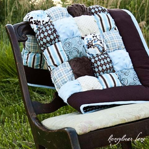 Puff Quilts ~ pattern available here ♡w