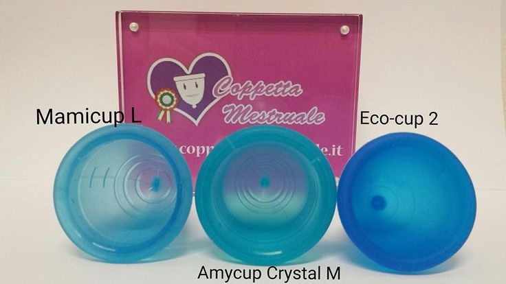 Diameter differences: Mamicup, Amycup Crystal and Eco-cup. https://www.coppetta-mestruale.it/coppette.php