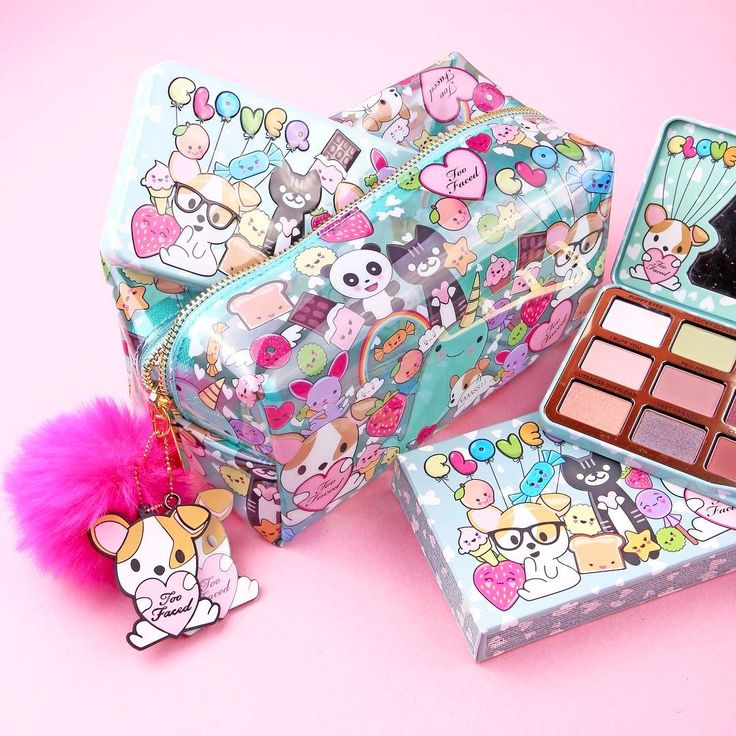 TOO FACED Clover Palette and love the bags Fall 2017❤️❤️❤️❤️