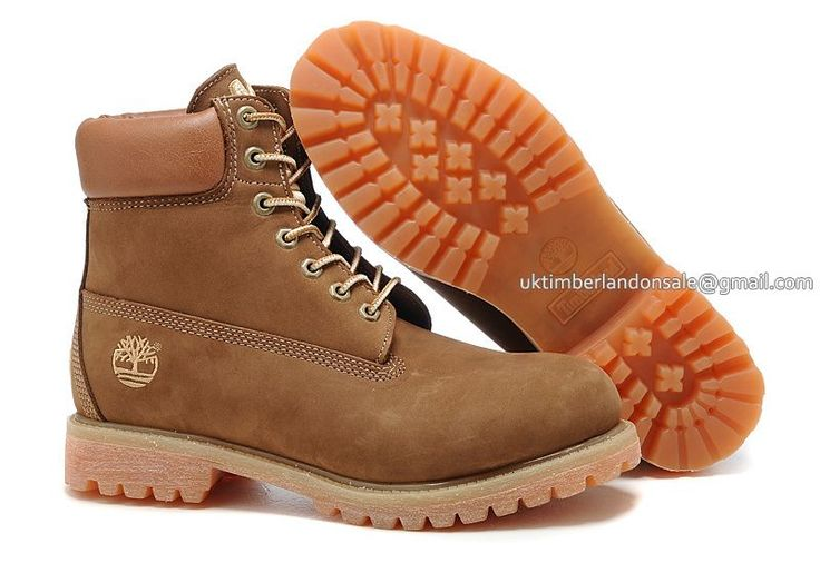 Timberland Men's 6 Inch Classic Boots - Light brown $ 85.00