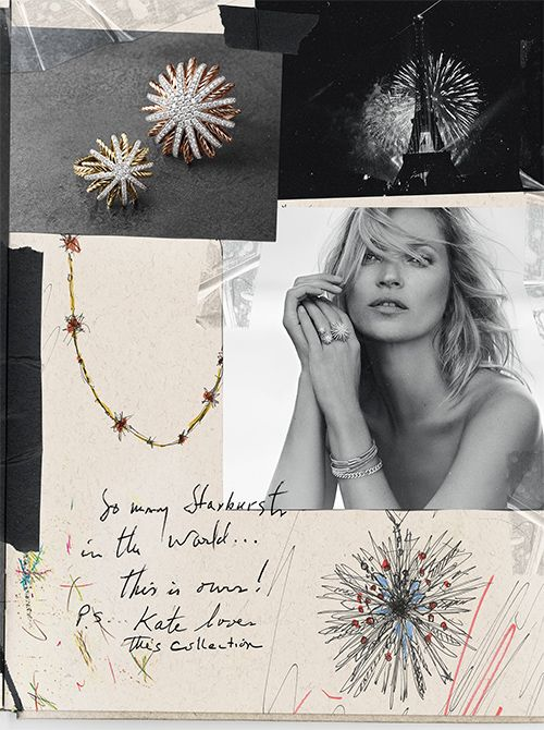 Behind the scenes of Starburst jewelry design inspiration // love these sketches + mood board #product_design