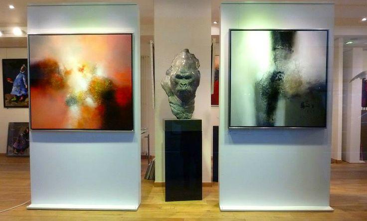 Eelco Maan I lyrical abstract paintings I Galerie 713, Knokke, Belgium I 2014