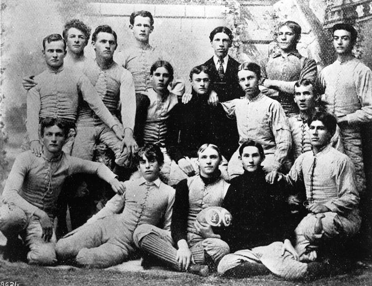 The Occidental College Football Team 1894. Vintage
