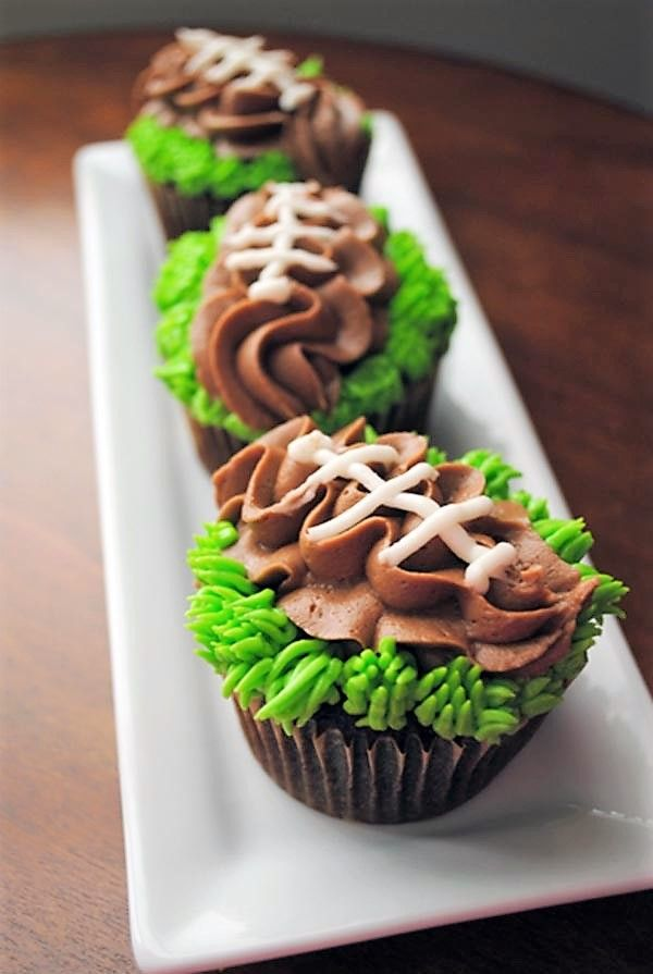 Football Cupcake Recipe Ideas!