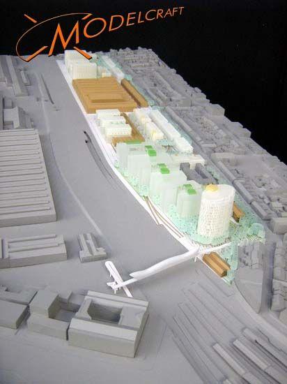 1:1000 Architectural Model by Modelcraft (NSW) Pty Ltd