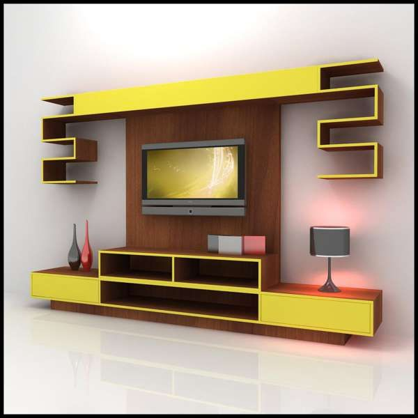 Interior Design For Hall Showcase Modern Tv Wall Units Modern