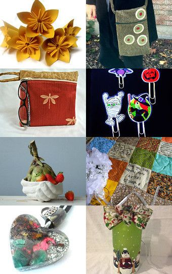 Oct End of Year Gifts  by Lily Bhattacharya (Indigo/Crystal) on Etsy--Pinned with TreasuryPin.com