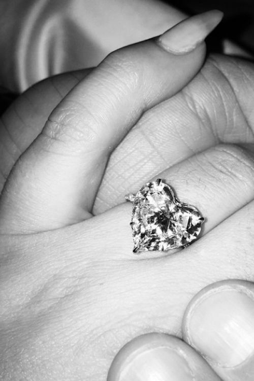 Celebrity Engagement Rings: Lady Gaga