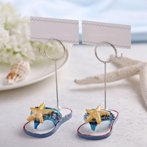 Estrellas de mar o pescados diseño Resina Los Titulares de Tarjeta del  Lugar (Juego de 2 piezas) (051041534) - Regalos prácticos - JJsHouse