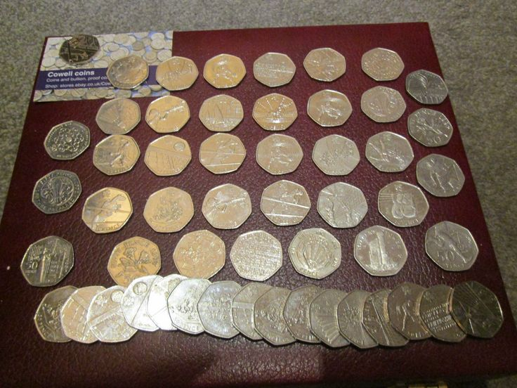 Rare 50p coins, olympic and commemorative, excellent #value, #great #prices uk se,  View more on the LINK: http://www.zeppy.io/product/gb/2/331489586100/