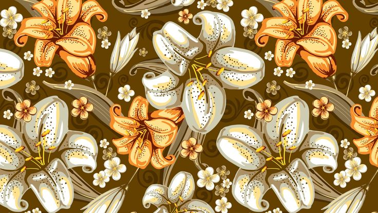 lilies, background, surface - http://www.wallpapers4u.org/lilies-background-surface/