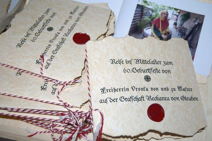 10x Einladung Mittelalterliche Hochzeit Geburtstag Danke Von Karten Boutique Auf Dawan Einladungen Einladung Kindergeburtstag Party Einladung