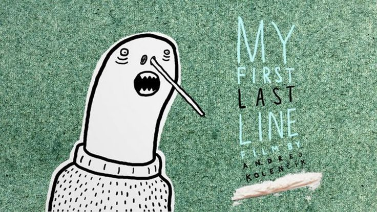 """""""My First Last Line"""" directed and animated by Andrej """"Admiral"""" Kolencik"""