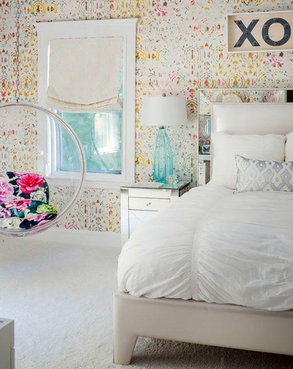 Tendencia sillas colgantes Habitaciones juveniles Pinterest