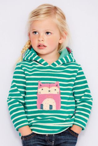 Buy Green Stripe Cat Fleece (3mths-6yrs) online today at Next: Portugal