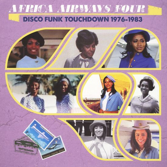 Various: Africa Airways 4 – Disco Funk Touchdown 1976 to 1983 (with bonus download)