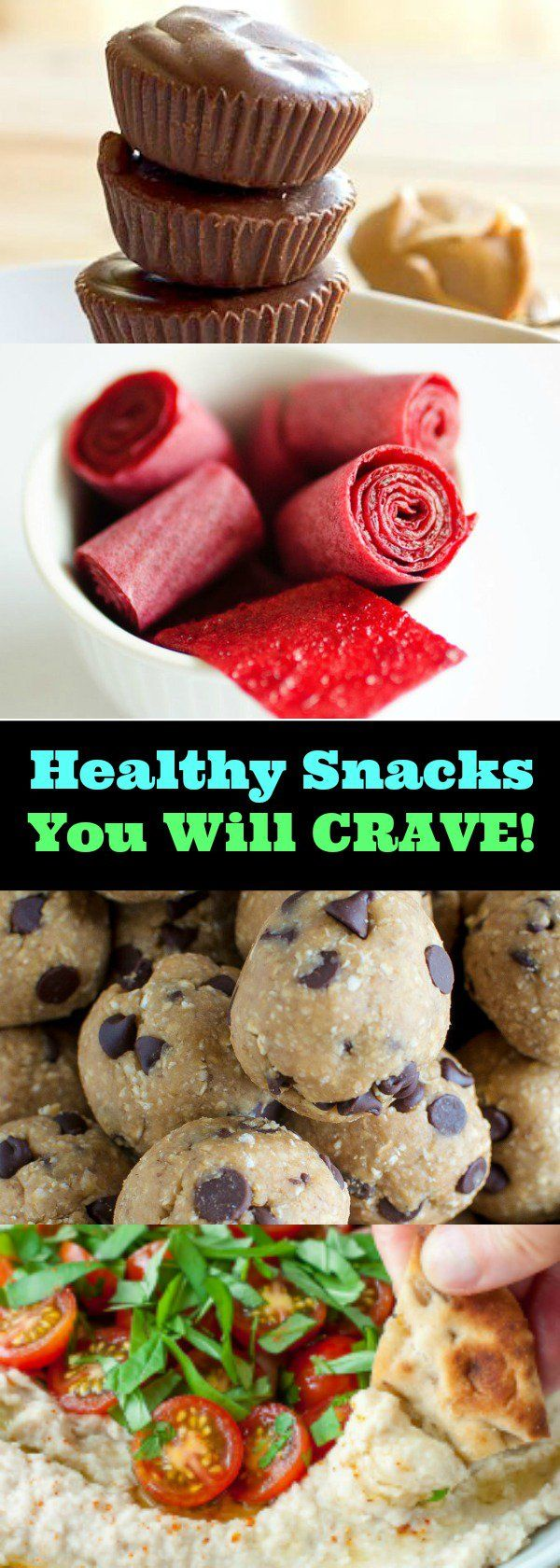 Easy, Healthy Snacks You Will CRAVE!