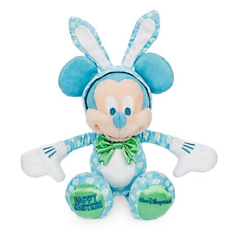 Mickey & Minnie Mouse Easter Plushes Out Now
