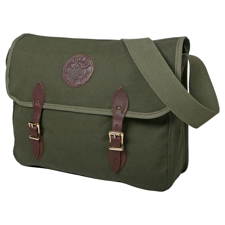 Duluth Pack Men's Standard Book Bag Olive (Green) Drab One Size