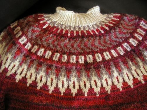 Fair Isle Yoke by Poppyrocks from Patons Book 1266