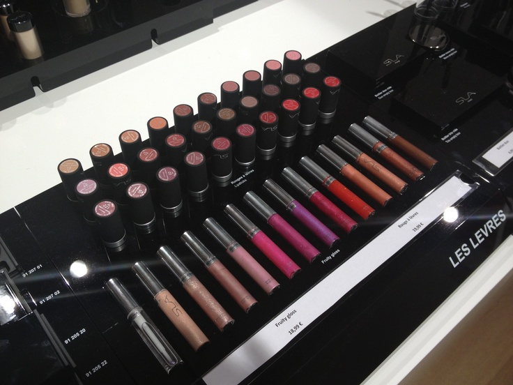 SLA Paris - Glosses and lipsticks