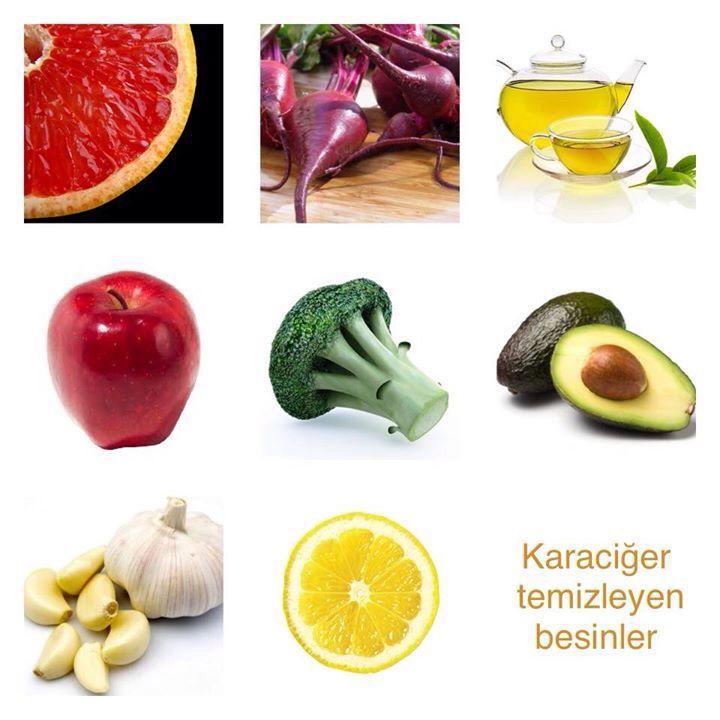 Karaciğer temizleyen besinler