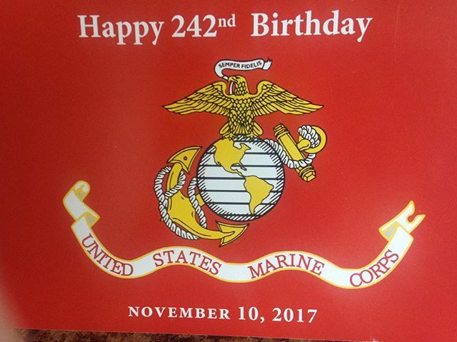 Happy 242nd Birthday to the United States Marine Corps!!!❤
