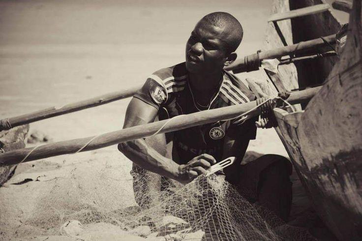 Les hommes pêcheurs de la côte de Madagascar