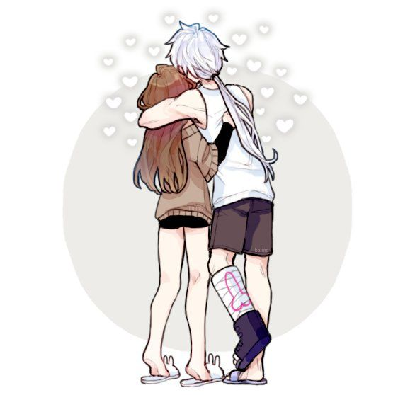 This is such a cute piece of art and then I looked at Zen's cast and started laughing, omg.
