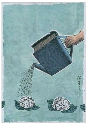 Feed your brain, read!   Yep! Food for thought!!!!!!! sw