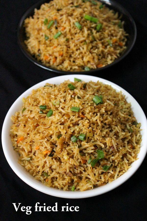 Veg Fried Rice Recipe Vegetable Fried Rice Yummy Indian Kitchen Recipe Fried Rice Veg Fried Rice Recipe Rice Recipes
