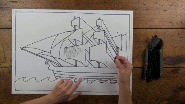Free! First Fleet Ship Art Lesson from Artventure. Artventure.com.au is where kids learn to draw and paint by following along with Kirsty the artist. Perfect for use in schools due to its links to the Australian National Curriculum.
