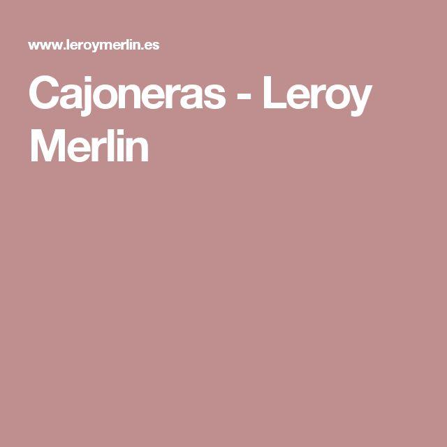 Best 25 cajoneras leroy merlin ideas on pinterest cajoneras de madera zapateras de madera - Cajoneras para armarios leroy merlin ...