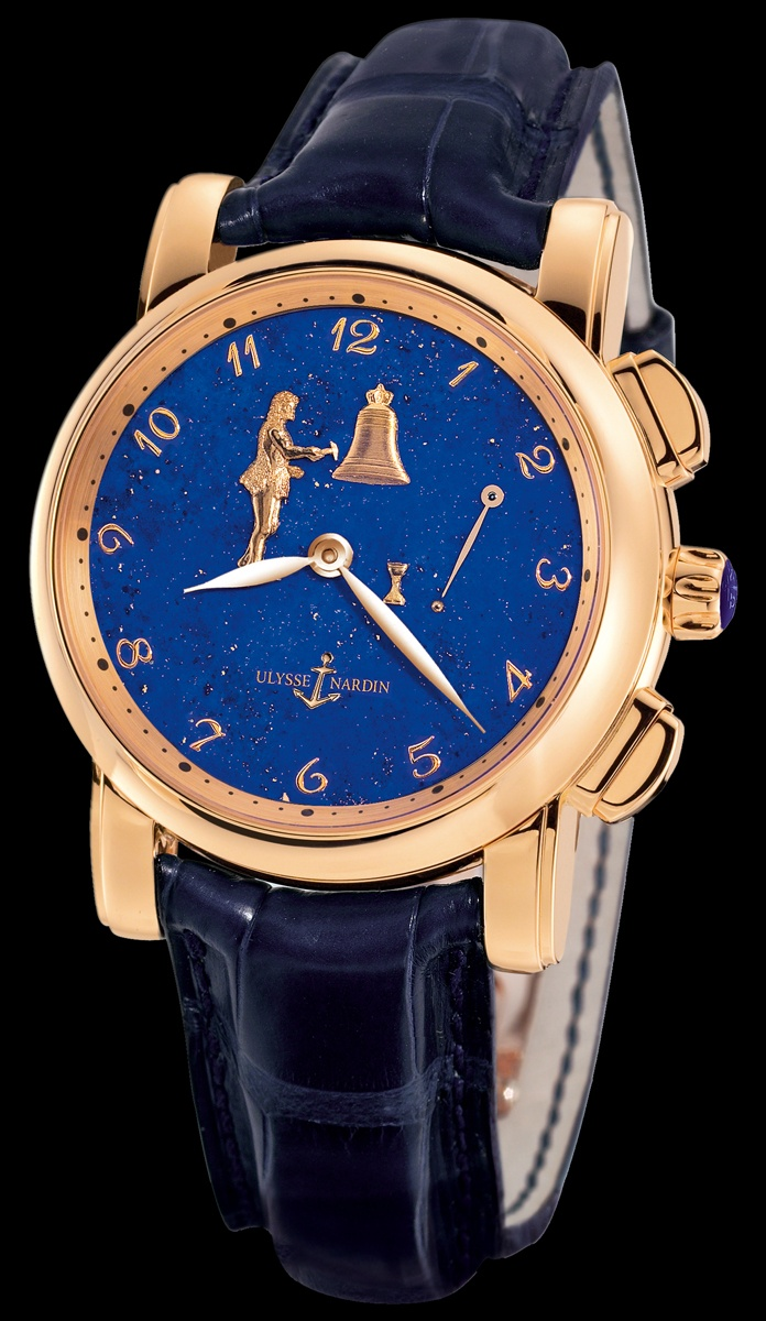 Ulysse nardin hourstriker b young co luxury timepieces and jewelry byoungco