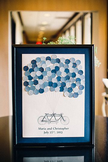 our guestbook via sayanythingsdesign on Etsy (Julie Lim Photography)