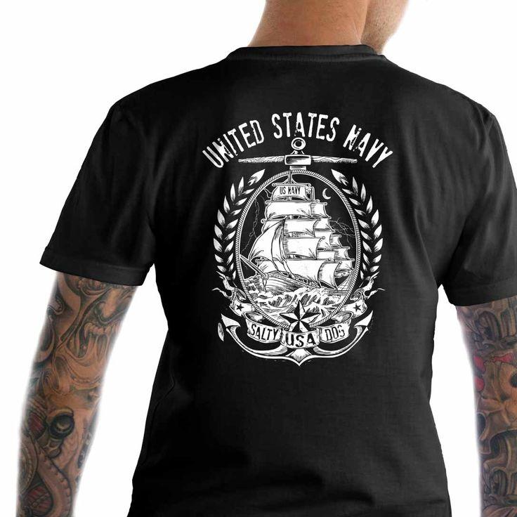 US Navy T-Shirt.  United States Navy T-Shirt.  #Dtom #Igmilitia #Liberallogic #Libtards #Livefreeordie #Redmeat #Republican #Sonsoflibertytees #Threepercent #UniteRight #Wethepeople