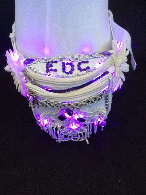 Decorated fanny pack edc