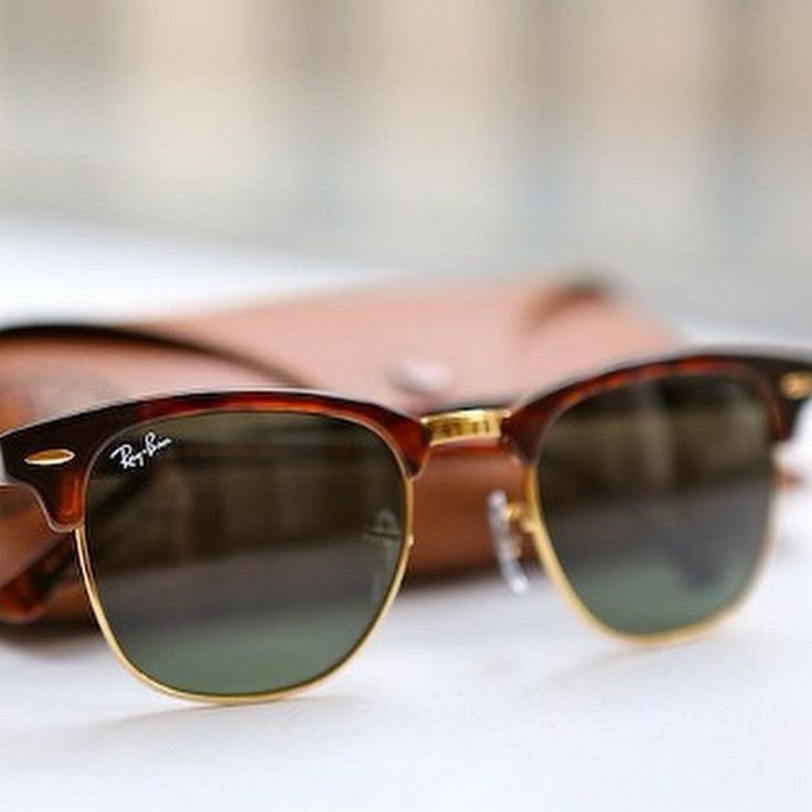 Ray Ban Clubmaster sunglasses! http://www.visiondirect.com.au/designer-sunglasses/Ray-Ban/Ray-Ban-RB3016-Clubmaster-W0366-52168.html