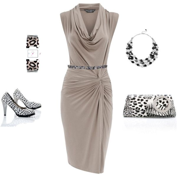 """""""Snow Leopard"""" by lislyn on Polyvore"""