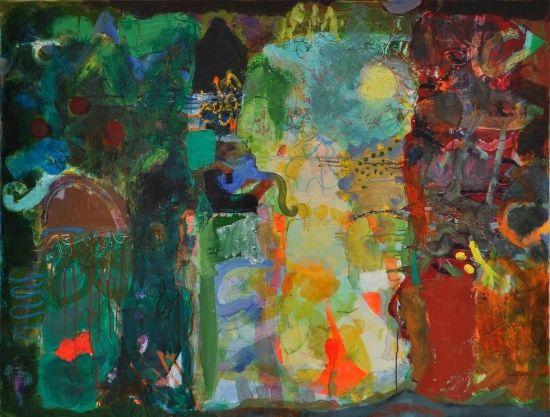 Ramin Nafikov's 'queen' Oil (ramin nafikov): 89x116cm   2009