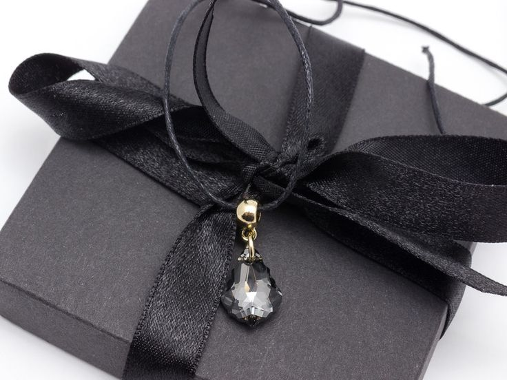 Charm Necklaces – Pendant black – a unique product by Blackif on DaWanda